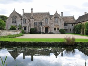 Grounds and Garden of an Attractive Mediaeval Era English Mansion
